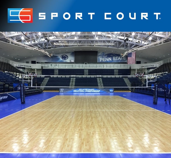 NCAA DI Men's National Collegiate Volleyball Championship to be Played on Sport Court