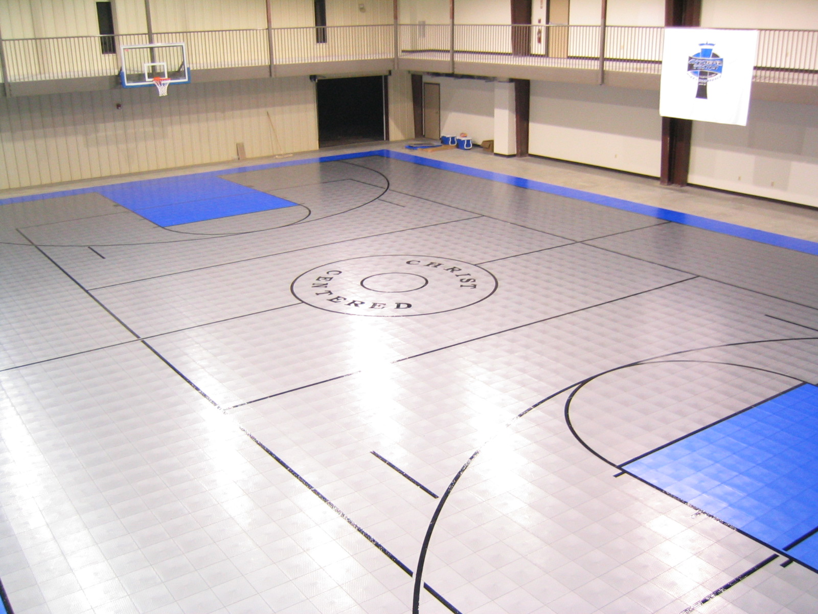 Completed sport courts 004 for Indoor residential basketball court