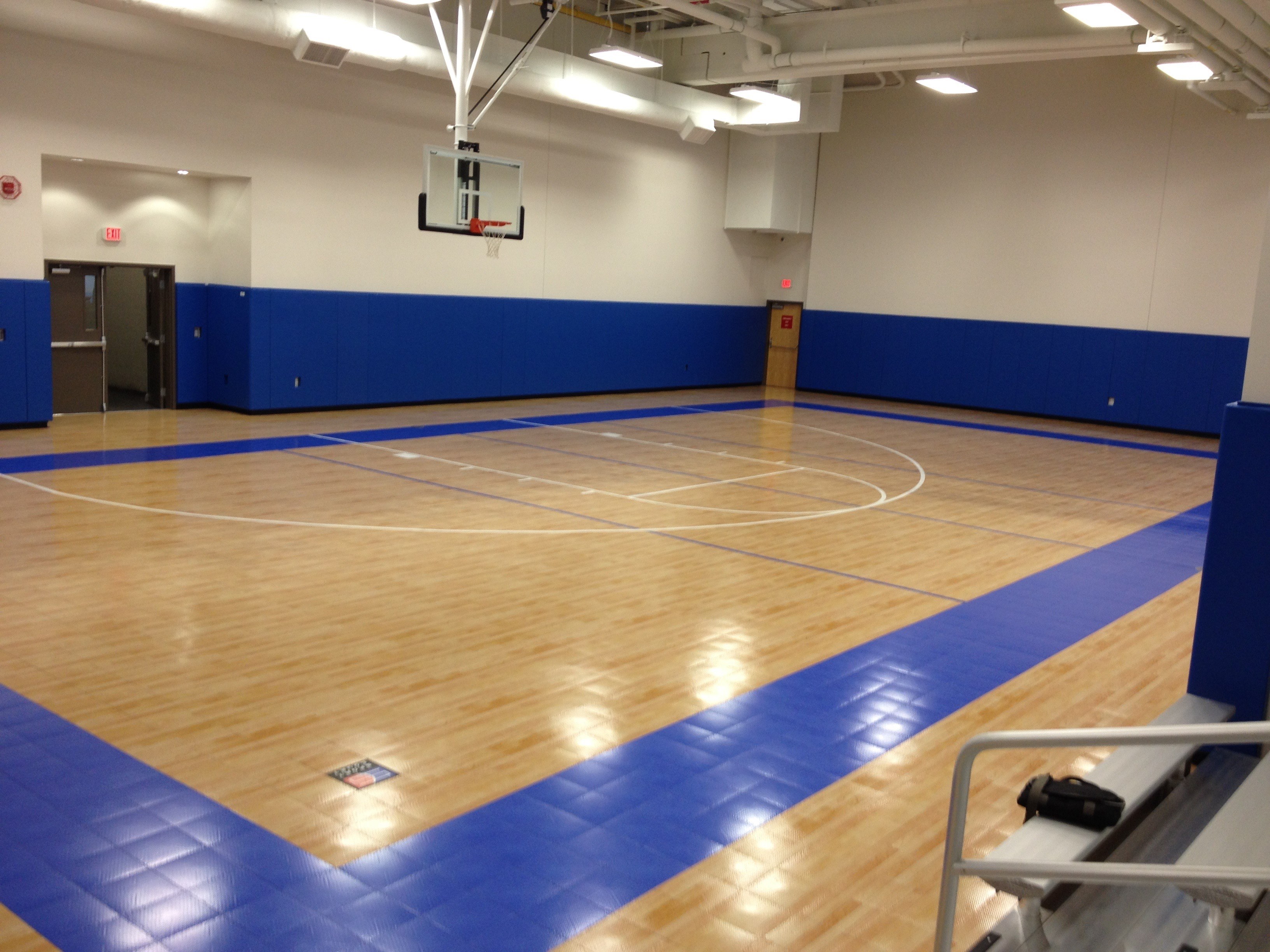 Commercial indoor for How to build a basketball gym