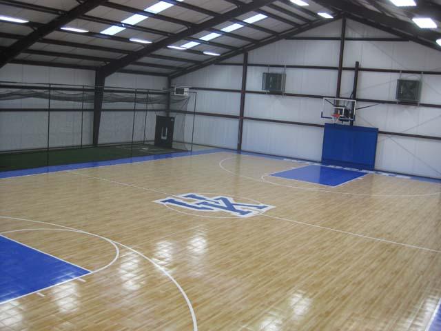 Residential indoor for Indoor sport court